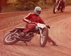 Very retro had an ossa with a stinger TT pipe it was super loud.