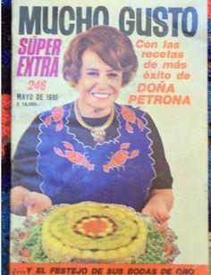 Revista Buenas Tardes Mucho gusto. La revista y Doña Petrona: inolvidables.