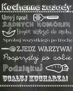 Kids Decor, Diy Home Decor, Bujo, Haha, Polish Recipes, Polish Food, Poster Pictures, Homemaking, Kids And Parenting