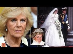 How Camilla tortured Princess Diana at her own wedding - YouTube