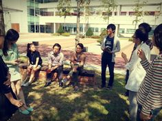 광합성중인 신입생들과 만남