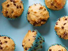 Whole-Wheat Chocolate Chip Muffins