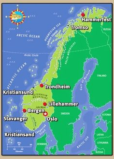 S City English Guide Stavanger Norway Map S City English Of S - Norway map in english