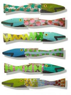 whimsy picket fences | the original picket fence fish by sks ~ cottage coastal