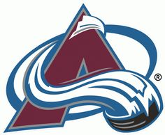Colorado Avalanche Primary Logo (2000) - A burgundy A with a streaking hockey puck around it.  Shade of burgundy changed from previous versi...