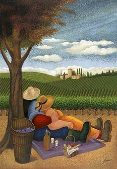"Lowell Herrero, ""Vertical Picnic"". 
