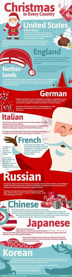 One Holiday, 10 Different Ways It's fun for kids (and us) to learn about how other cultures celebrate the holidays. This infographic...