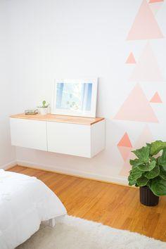 Diy Modern Girls Room Makeover Reveal