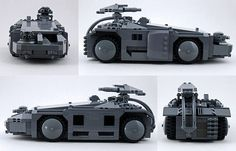 https://flic.kr/p/6tZSit | Colonial Marine APC from Aliens | As soon as I got my hands on a couple of M41A Pulse Rifles from BrickArms, I knew I had to create that detailed minifig scale Colonial Marine APC I've always dreamt of building.