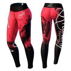 cba51645 Kr 499 Kjøp Temptress Legging, red/black hos Gymgrossisten