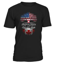 American grown with Canadian Roots Hoodies