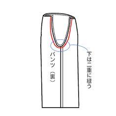 【型紙・作り方】簡単スカンツ(ガウチョパンツ) Sewing Pants, Couture, Alter, Sewing Patterns, Skirt Patterns, Diy And Crafts, Blog, Handmade, Nightgown