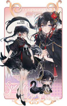 EA: honk by yukihomu on DeviantArt Anime Chibi, Chica Anime Manga, Manga Girl, Fantasy Character Design, Character Inspiration, Character Art, Character Outfits, Beautiful Anime Girl, Anime Girl Cute