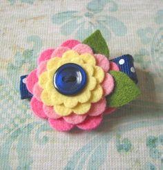 Felt Flower @Jasmine Dennis