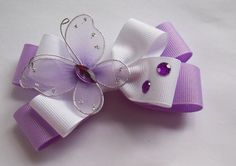 Butterfly Boutique Hair Bow