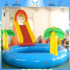 "Kids Pools With Slides banzai jungle fun playground pool - manley - toys ""r"" us 