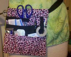 [orginial_title] – Leanne Wicks Pattern and Sewing Tutorial: Nurse's Tool Belt DIY Sewing Tools, Sewing Tutorials, Sewing Crafts, Sewing Projects, Learn Sewing, Easy Projects, Sewing Ideas, Nurse Pouch, Nurse Bag