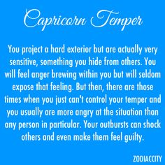 It's true at first I'm mad at the person if I'm fighting with them and then I'm even more as it goes on in the situation Capricorn Love, Zodiac Signs Capricorn, Capricorn And Aquarius, Sagittarius Facts, My Zodiac Sign, Sagittarius Women, Zodiac Quotes, Zodiac Facts, My Star Sign