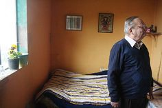 Ruskin Bond -- one of India's living treasures -- at Ivy Cottage, Mussoorie, Uttarakhand, India