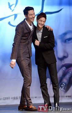 Jo In Sung and Kim Bum --- That Winter,The Wind Blows Press Conference Photos