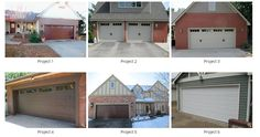 Before and After Photos of Our Garage Door Projects in South Central Kansas http://robertsoverdoors.biz/garage-doors-wichita-ks.html