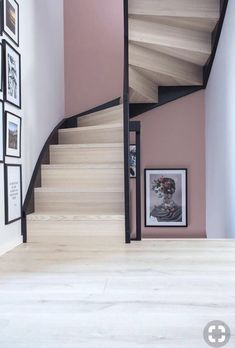Awesome Awesome Loft Staircase Design Ideas You Have To See. More at trendec… Awesome Awesome Loft Staircase Design Loft Staircase, House Stairs, Staircase Design, Staircases, Black Staircase, Loft Interior, Interior Stairs, Interior Design, Interior Lighting