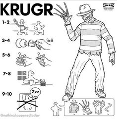 Freddy Ikea instructions