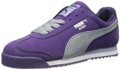 PUMA Women's Roma Nbk Tort Women's Sneaker,Parachute Purple/Quarry/PUMA Silver,8 B US