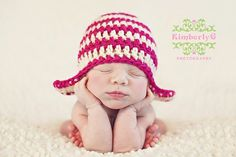 newborn- love the hat!