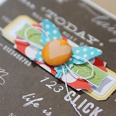 layers, label, ticket, tag, butterfly, string, button