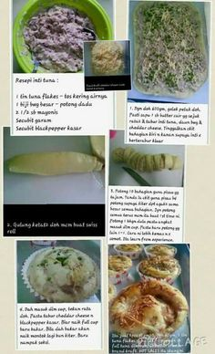 Roti tuna Pastry Recipes, Bread Recipes, Cooking Recipes, Pastry Design, Bread Bun, Bread And Pastries, Food Lists, Bread Baking, Cheesecakes
