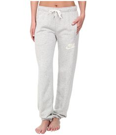 best loved 08c81 2070e Nike rally loose pant grey heather sail