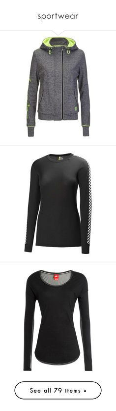 """""""sportwear"""" by emiliesprenger on Polyvore featuring activewear, activewear tops, tops, 38. gym wear., tanks, 39. gym wear., nike, logo sportswear, nike sportswear and athletic sportswear"""