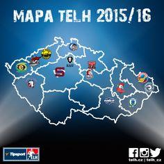 2015/16  Czech extraLiga Map  https://www.facebook.com/telh.cz/photos/a.707971242602170.1073741827.707447059321255/870983082967651/?type=1