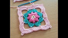 Crocheted  motif no  22