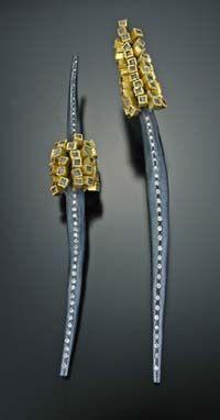 Jewellery we love!  www.silvertownart.com  Todd Reed Earrings