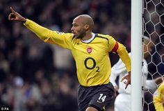 Arsenal legend Thierry Henry was an idol to Blind growing up with the defender admitting h...