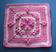 Ravelry: Popin Square pattern by Melissa Green