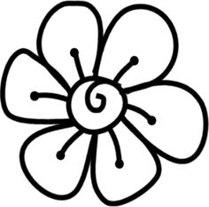 Scribbles Designs: #F 23 Flower 1 (Free)