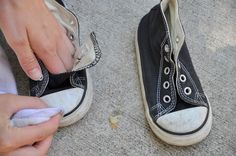 Making shoes look new! How to clean shoes