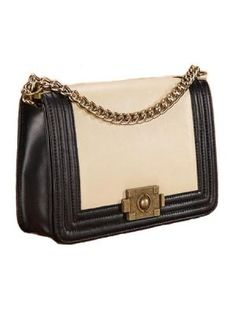 Vintage Leather Chain Bag