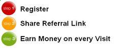 Earn Money Online - VisitsToMoney.com Gagnez facilement de largent en faisant la promotion dun lien - 0,5 $ par lien de référence visite - Here's Your Opportunity To CLONE My Entire Proven Internet Business System Today!