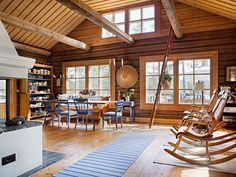 . Cottage Furniture, Modern Furniture, Furniture Design, Swedish Decor, Cottage Interiors, Cottage Design, Shabby Chic Cottage, My Dream Home, Sweet Home
