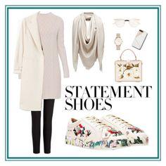 """#PolyPresents: Statement Shoes"" by tikairawan-ai on Polyvore featuring Nasty Gal, Joseph, 'S MaxMara, MANGO, Fendi, Gucci, ROSEFIELD, Dolce&Gabbana, contestentry and polyPresents"