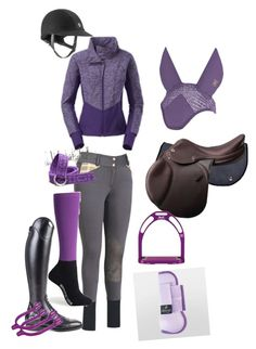 """""""Purple schooling outfit"""" by ivymyers ❤ liked on Polyvore featuring The North Face"""