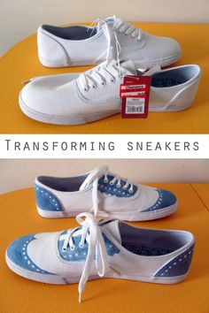Finally. You can color on your shoes without your parents yelling at you. All you need for this project is a sharpie and an imagination! Get the simple steps here.