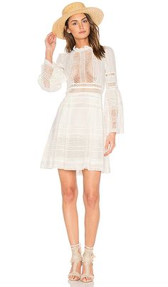 Shop for Sea Baja Lace Long Sleeve Dress in White at REVOLVE. Free 2-3 day shipping and returns, 30 day price match guarantee.