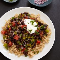 Beans and Rice  http://www.weightwatchers.com/plan/mli/MealPage.aspx?mealid=141021