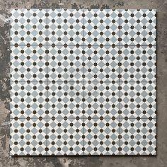 Vloertegel henley ice 45x45 cm 4 in 1 tegel vintage bestel je eenvoudig bij Tegels in Huis