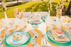 spring time table decor